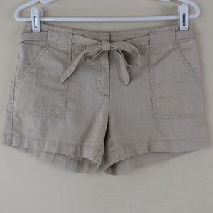 NY&Co. Size 2 Shorts With Removable Tie Belt